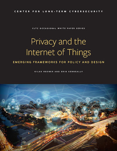 Download the Privacy and the Internet of Things Report