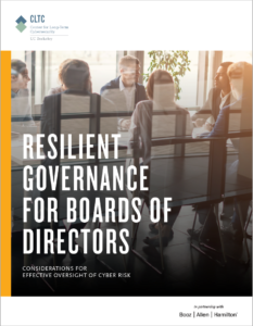 Resilient Governance for Boards of Directors