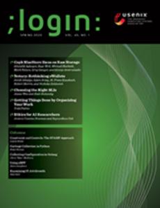 ;login magazine cover