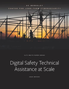 Cover of Digital Safety Technical Assistance at Scale