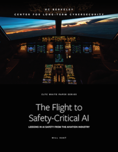 """New Report: """"The Flight to Safety-Critical AI: Lessons in AI ..."""