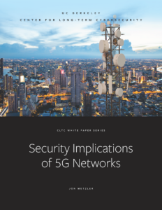 Cover image - Security Implications of 5G Networks