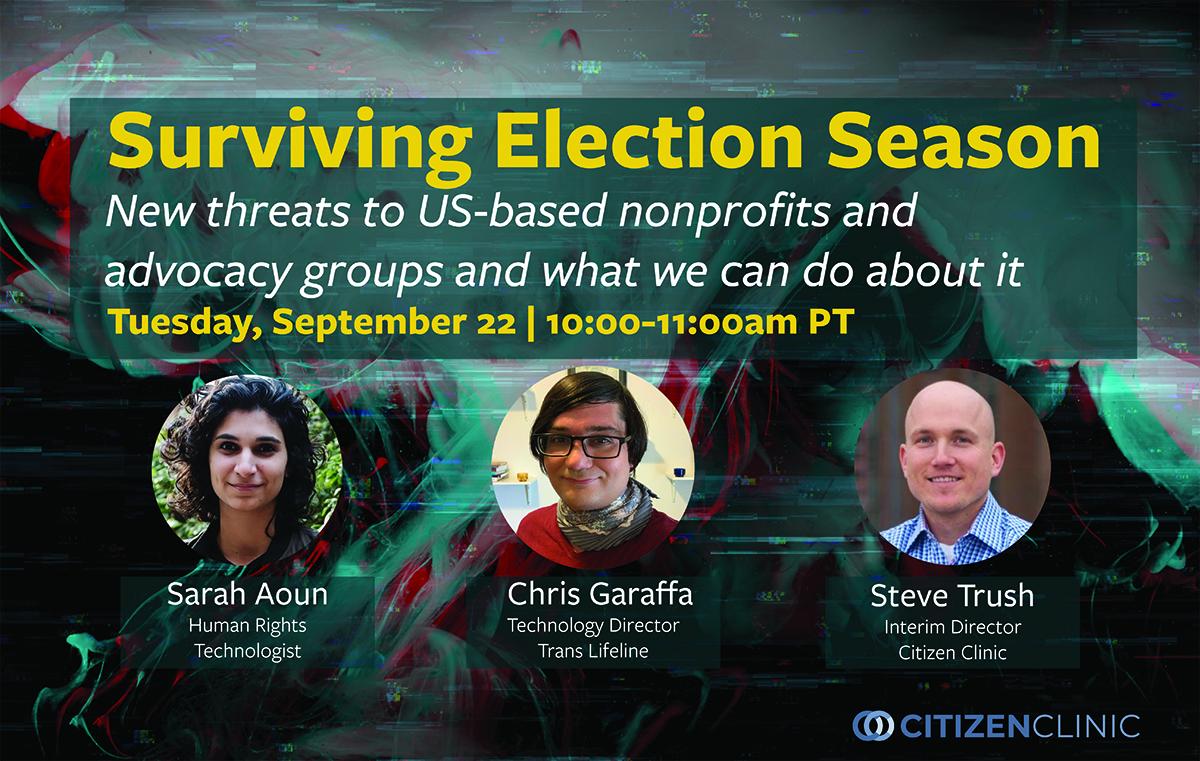 Surviving Election Season
