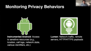 "Serge Egelman, ""Monitoring Privacy Behaviors"" slide"