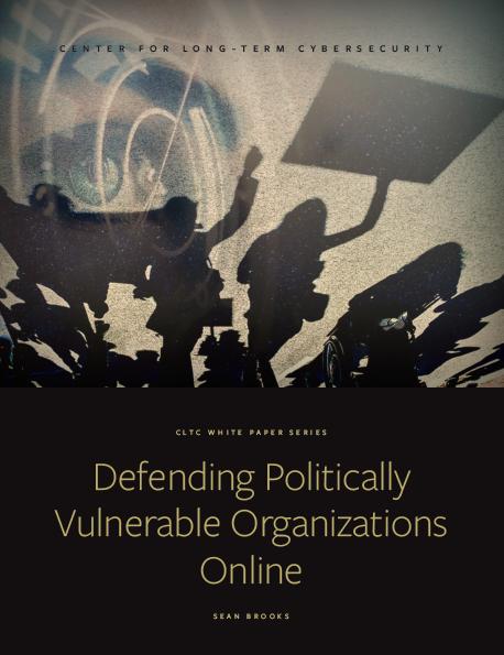 """Defending Politically Vulnerable Organizations Online"" Report"