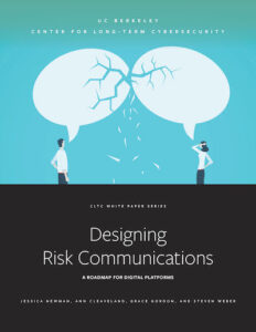 Cover of Designing Risk Communications report