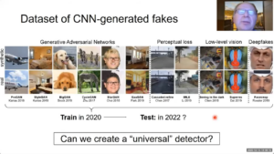 Detecting Images Generated by Neural Networks Presentation Slide