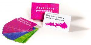 Adversary Personas cards